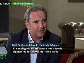Rául Burillo, exdelegado de Hacienda en Baleares