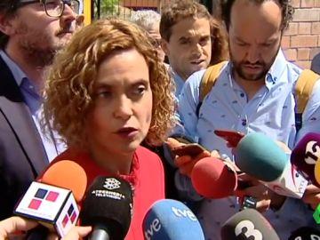 Meritxell Batet sobre los presos políticos