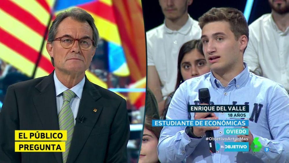 Artur Mas y Enrique del Valle