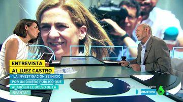 Ana Pastor y el juez José Castro