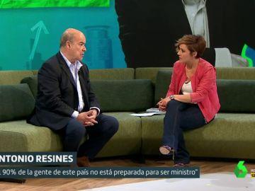 Antonio Resines y Cristina Pardo