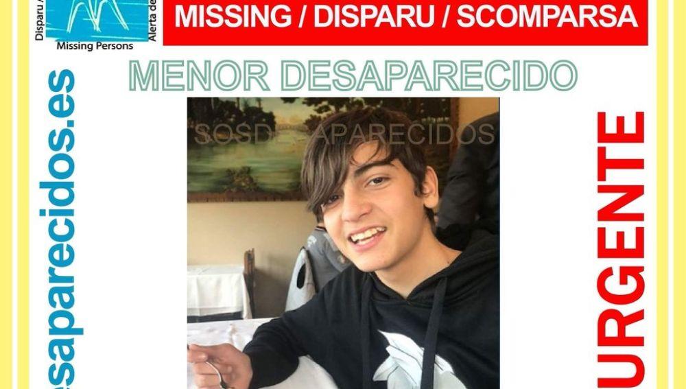 Desaparecido en Santa Coloma de Gramanet