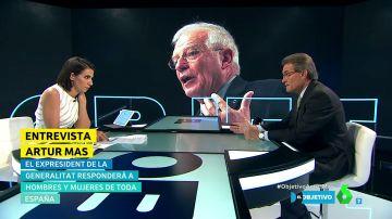 Ana Pastor y Artur Mas