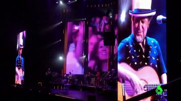 Joaquín Sabina se queda sin voz en pleno concierto