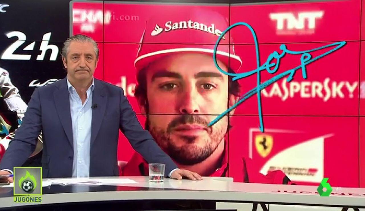 """Josep Pedrerol: """"Irse de Ferrari para fichar por McLaren fue un error que puede acabar con Alonso yéndose de la Fórmula 1 por la puerta de atrás"""""""