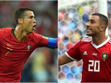 Portugal - Marruecos, partido del Mundial de Rusia