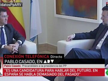 """Pablo casado, apirante a liderar el PP: """"Rajoy y mis compañeros de dirección conocían la presentación de la candidatura"""""""