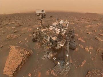 Una gran tormenta amenaza al rover Opportunity en Marte