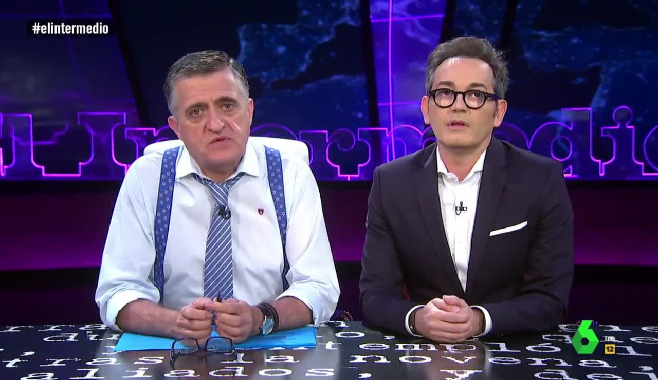 Wyoming y Santi Villas en El Intermedio