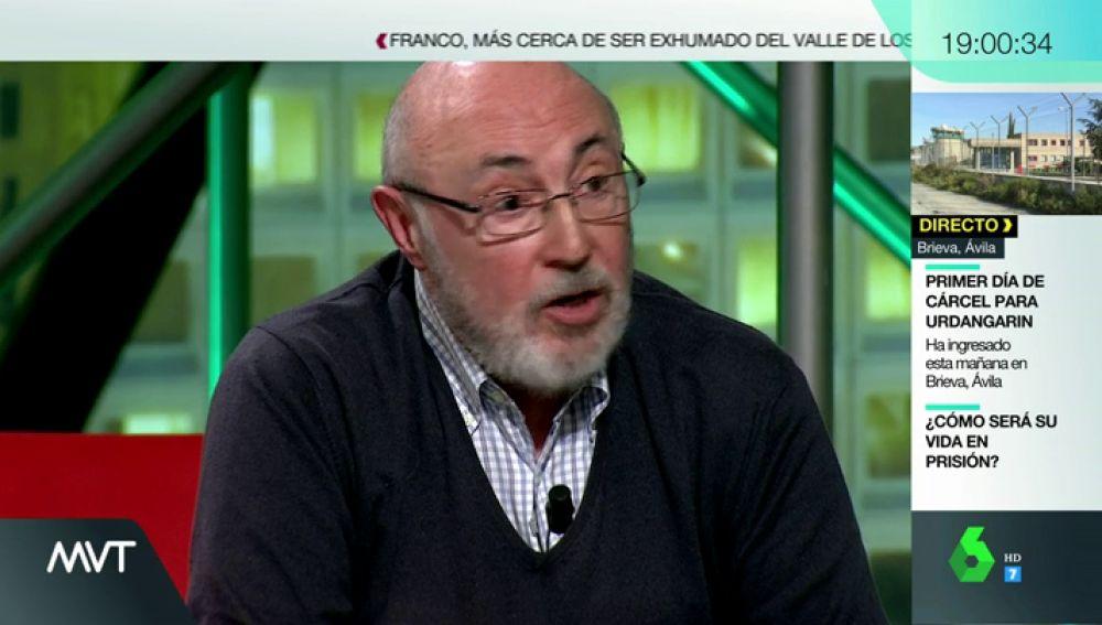 """Así relató Luis Roldán en laSexta Noche su estancia en la misma prisión que Urdangarin: """"Estaba absolutamente solo"""""""