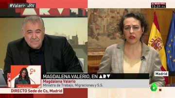 """Magdalena Valerio: """"A 'Billy el Niño' le quitaría la medalla y el plus de la pensión. Por desgracia, forma parte de la historia de España"""""""