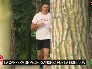 Las imágenes menos habituales de Pedro Sánchez: así arranca su semana antes de comenzar su rutina de trabajo