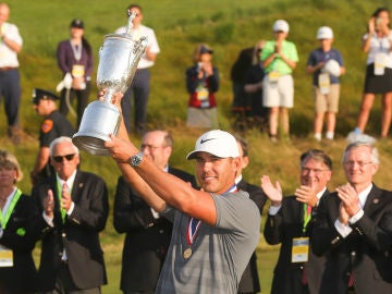 Brooks Koepka levanta su segundo US Open en el campo de Shinnecock Hills