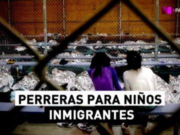 """""""Su hijo necesita una ducha"""": Trump resucita los campos de concentración para separar a los niños inmigrantes de sus padres"""