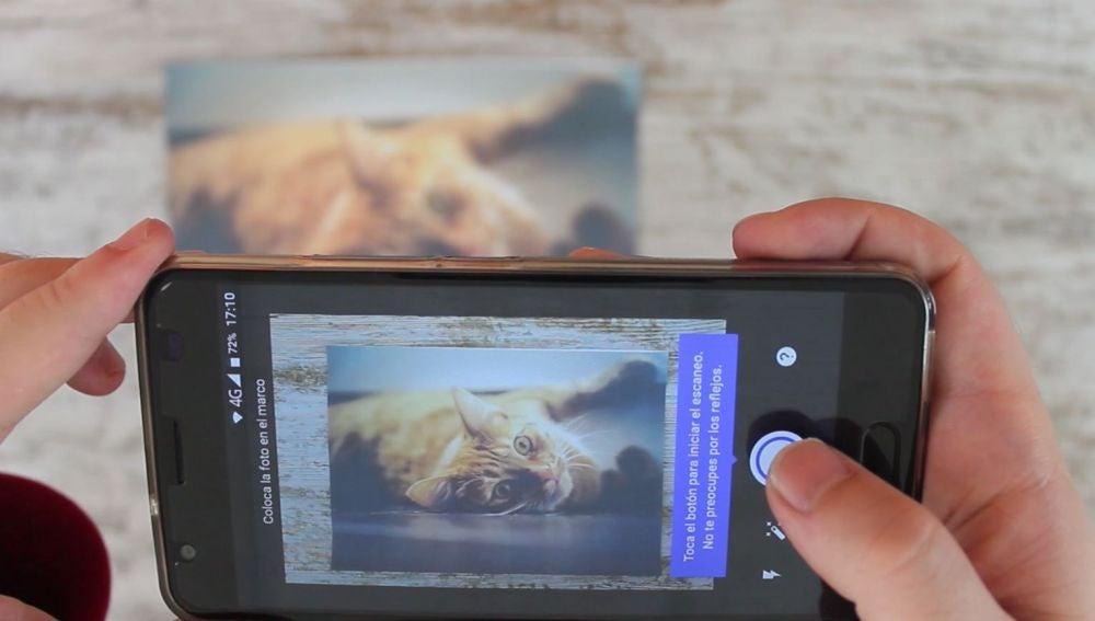 Digitalizar fotografías