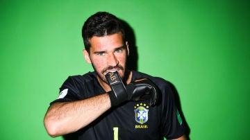 Alisson, portero de Brasil en el Mundial de Rusia