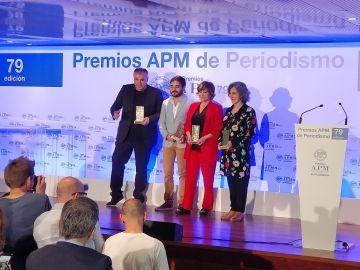 Ferreras, premio APM a Mejor Periodista del Año 2017