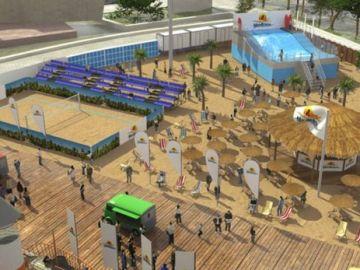 Recreación del proyecto que se instalará en Colón