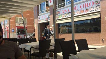 Imagen de Rajoy en Santa Pola