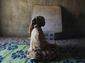 Una joven víctima de Boko Haram