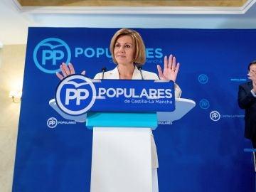 Cospedal en la junta directiva del PP de Castilla la Mancha