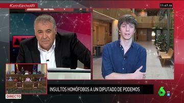"""El diputado Eduardo Rubiño relata los insultos homófobos que sufrió con su novio: """"Hay un repunte de estas agresiones"""""""