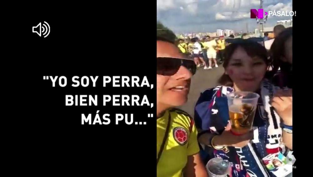 """""""Repite: yo soy bien perra"""": la afición de Colombia avergüenza al país tras su batacazo ante Japón"""
