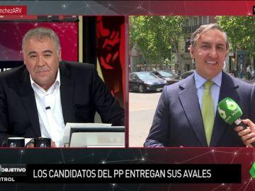 """García-Hernández explica su candidatura a dirigir el PP: """"Para que el mal triunfe solo hace falta que los buenos no hagamos nada"""""""