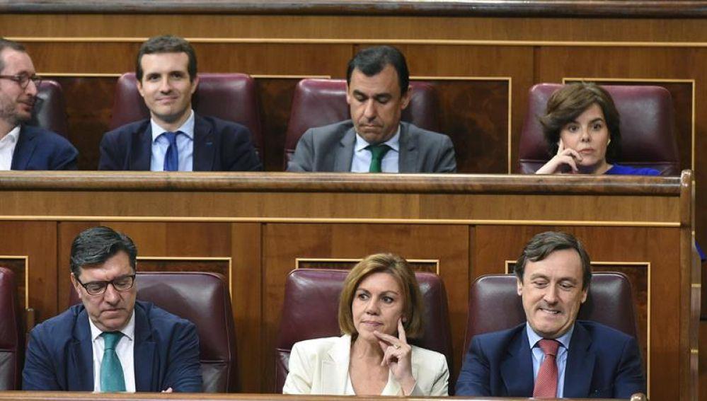 La bancada popular en el Congreso de los Diputados
