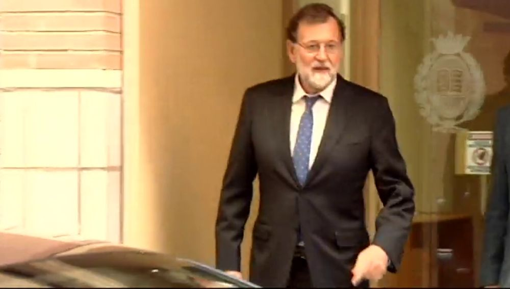 Mariano Rajoy, registrador en Santa Pola
