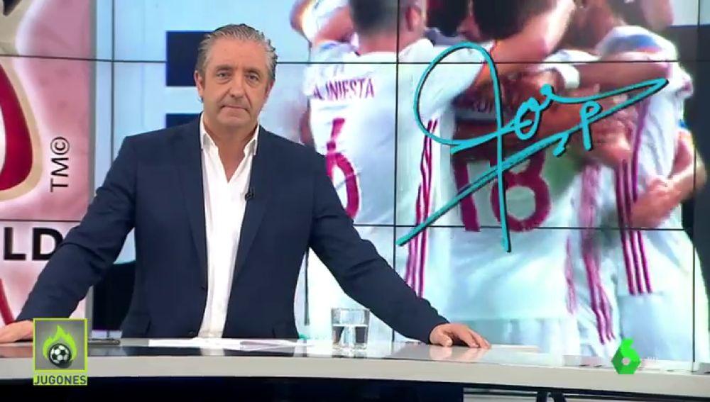 """Josep Pedrerol: """"El fútbol es como la vida. Sin esfuerzo no hay premio"""""""