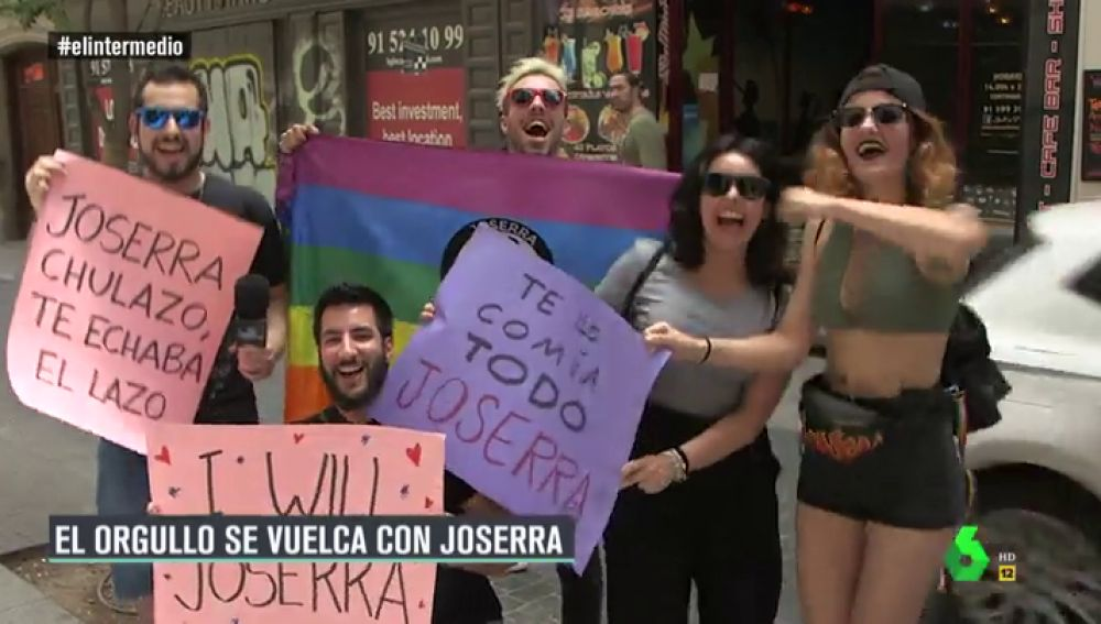El Orgullo se vuelca con Joserra