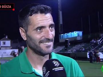 Dani Güiza logró el ascenso con el Atlético Sanluqueño siendo el ídolo de la afición