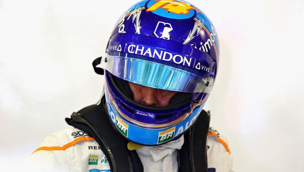 Fernando Alonso, en el trazado de Spielberg