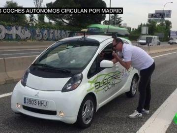 Tal vez te hayas cruzado con ellos y no te has dado cuenta: los coches autónomos ya circulan por carreteras españolas