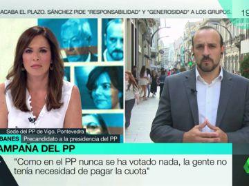 El precandidato a la Presidencia del PP, Elio Cabanes