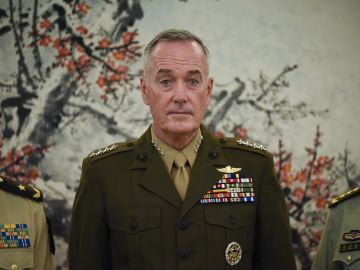El jefe del Estado Mayor Conjunto del Ejército de Estados Unidos, el general Joseph Dunford, en una imagen de archivo.