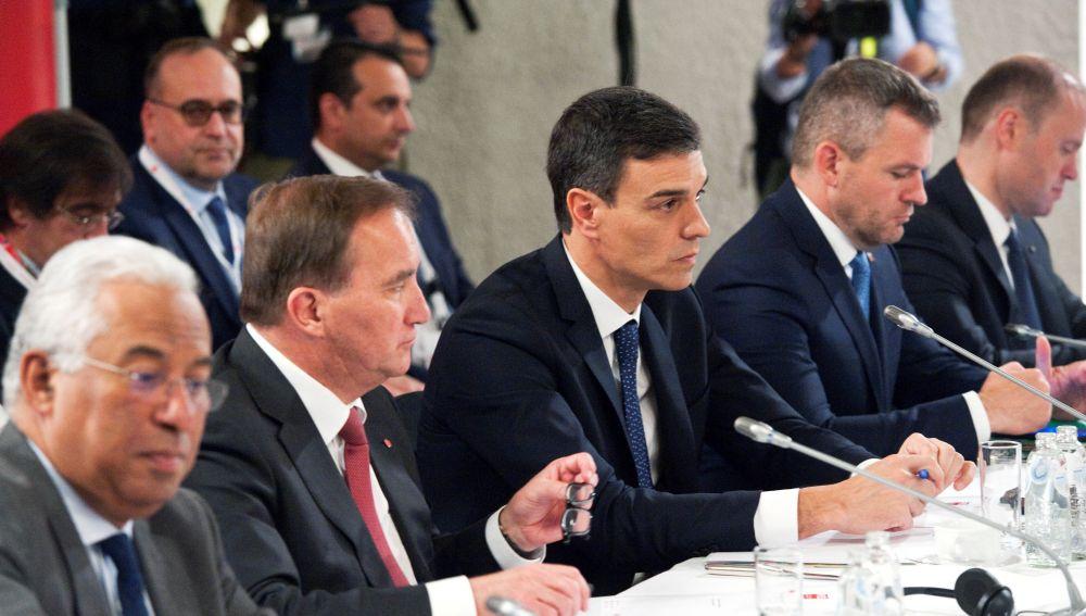 Pedro Sánchez en el Consejo Europeo