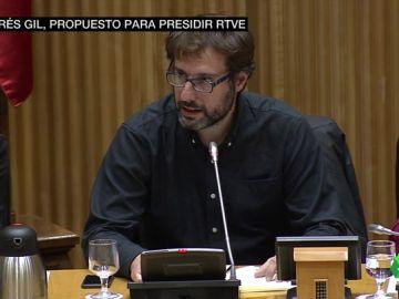 PSOE y Podemos llegan a un acuerdo para que el periodista Andrés Gil sea el nuevo presidente de RTVE