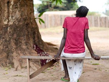 Una mujer Keniata