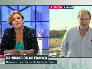 """El presidente de la Fundación Franco: """"Los que sostienen a Sánchez quieren volar la cruz del Valle de los Caídos al más puro estilo talibán"""""""