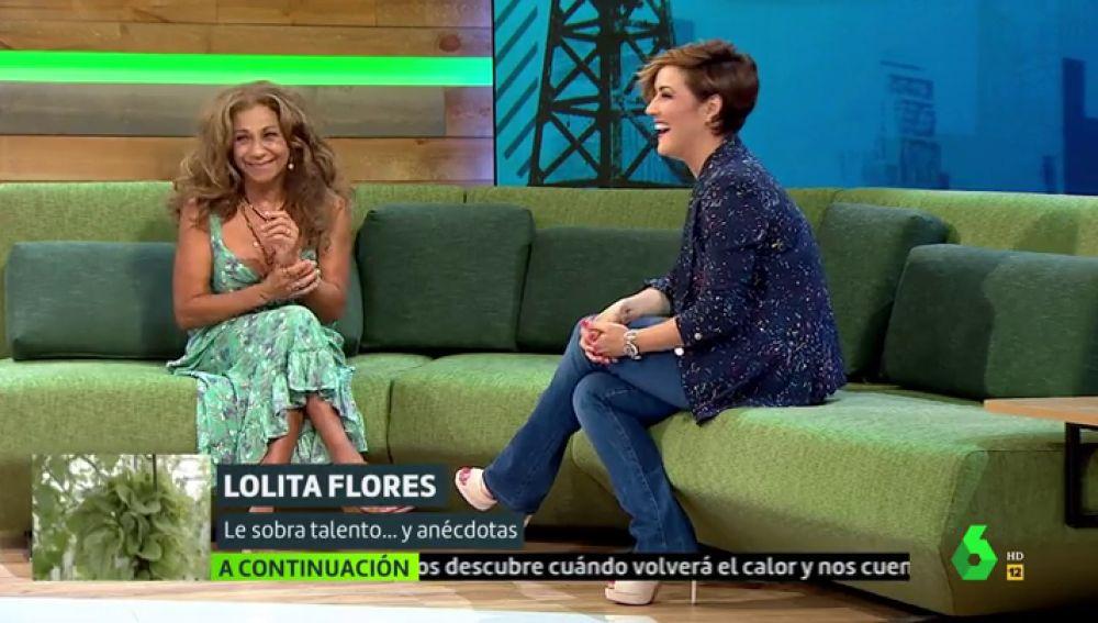 Lolita Flores y Cristina Pardo