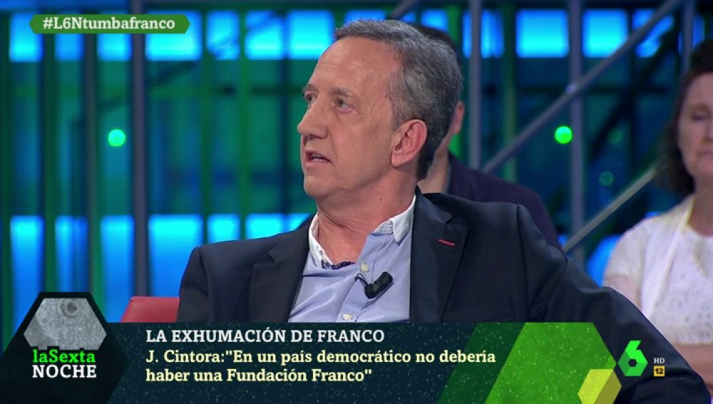 Jaime Alonso, portavoz de la Fundación Francisco Franco