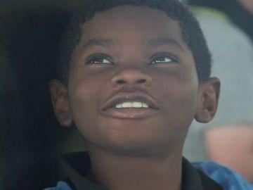 Krisley, un niño de nueve años a bordo del Open Arms