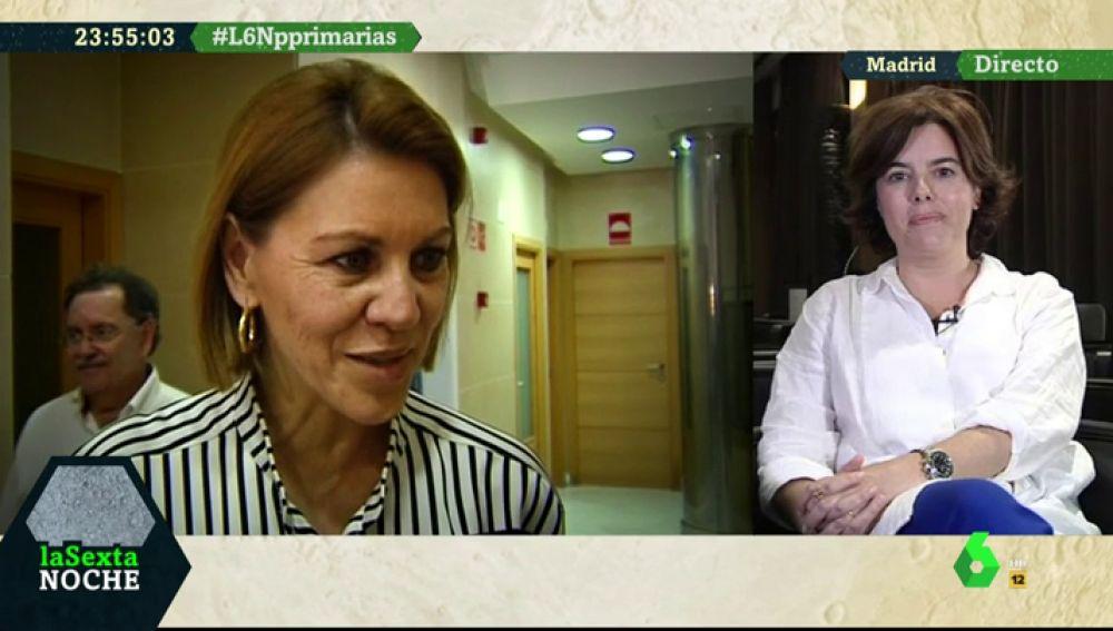Soraya Sáenz de Santamaría, candidata a la Presidencia del PP