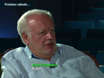 El actor Juan Echanove
