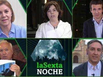 Los candidatos a liderar el PP en laSexta Noche