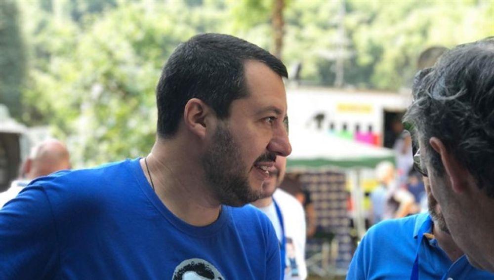 Ministro del Interior italiano Matteo Salvini