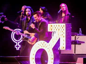 The Killers durante un concierto