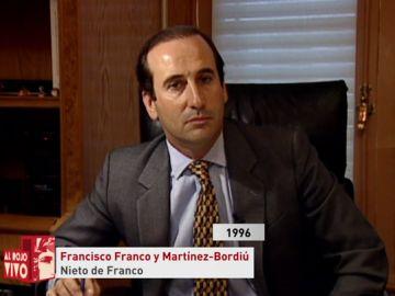 El nieto del dictador Francisco Franco y Martínez-Bordiú